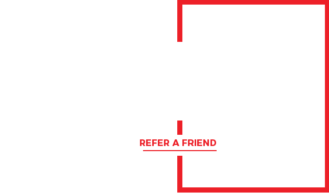 We reward $35 for any new pest control service customer referral