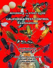 CALIFORNIA PEST CONTROL EXAMINATIONS