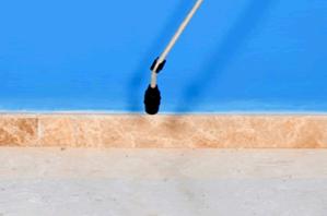 Treatment Spray on baseboards