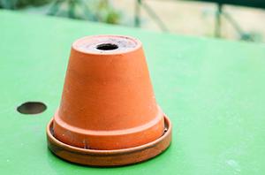 Inverted Flower Pot