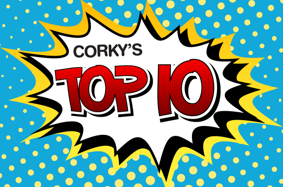 Corky's Noon Cartoon Top Ten